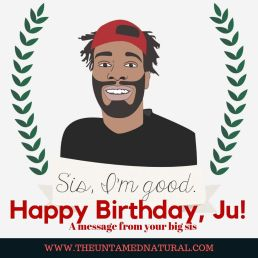Happy Birthday, Ju!
